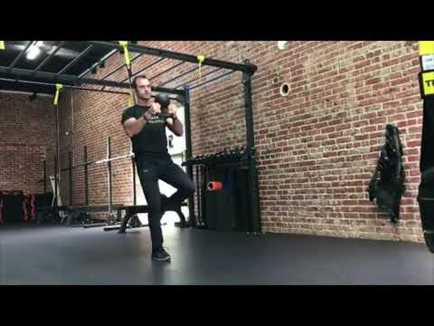 TRX Freestyle Friday | TRX Lunge w/ Kettlebell