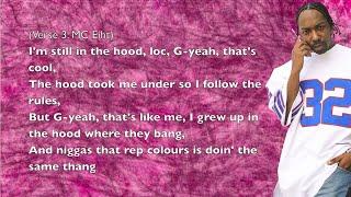 Kendrick Lamar - m.A.A.d City (ft. MC Eiht) - Lyrics