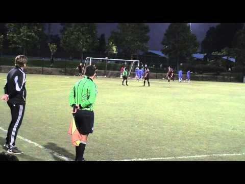 Jesse Fitzgerald Left Attacking Fullback 2014 Soccer Highlights (2016 Grad)
