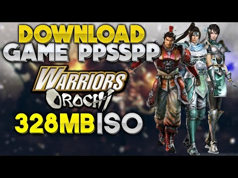 """warriors-orochi""-(ppsspp/psp)-gameplay-&-download"