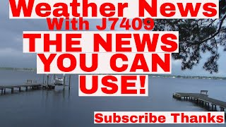 Weather News  Hot & Wet & Some Sun With J7409 7- 4- 18