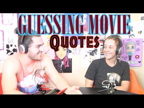 Podcast #28 - Guessing Movie Quotes