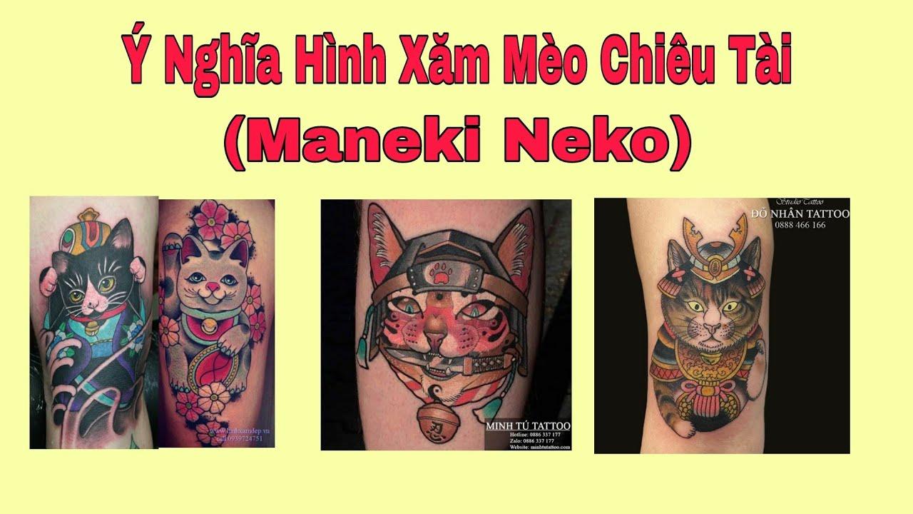 Ý Nghĩa Hình Xăm Mèo Thần Tài – Maneki Neko – Hình Xăm Phong Thủy – HS CHANNEL   Tóm tắt các tài liệu nói về hình xăm mèo thần tài đầy đủ nhất