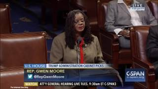 Rep. Gwen Moore Alarmed by Sen. Jeff Sessions Nomination