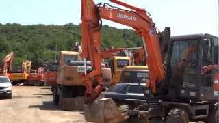Korean used Daewoo SL55W-VS Excavator -- Autowini.com(ko3436-008)