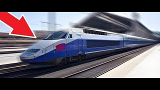 LE TGV LE PLUS RAPIDE AU MONDE ! (Train Simulator 2017) #1