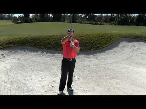 Graeme McDowell's bunker play lesson