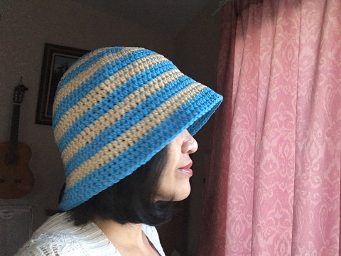 Spring Hat *4 ways to wear* - Crochet Tutorial