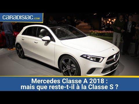 download Présentation Mercedes Classe A 2018 : mais que reste-t-il à la Classe S ?