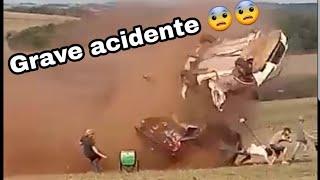 Acidente de carro GRAVE em  Rally  - extreme off road