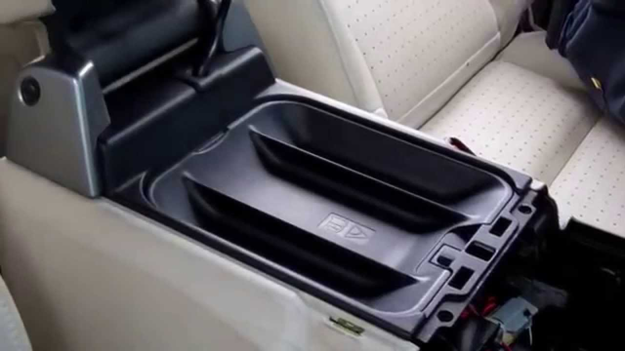 how to remove cubby cool box lid and fridge from a range rover sport 2005 youtube [ 1280 x 720 Pixel ]