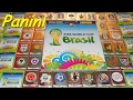 PANINI STICKER FIFA World Cup Brasil 2014 unboxing Sticker in Paninialbum