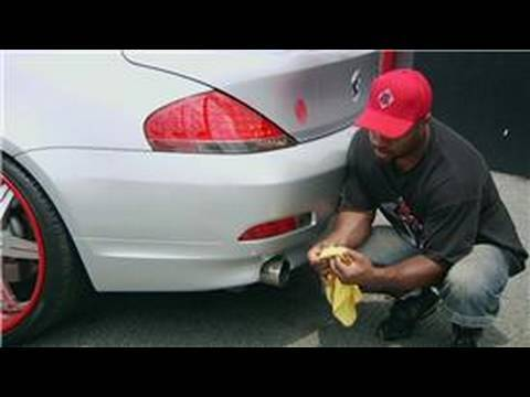 Car Washing & Detailing : How to Clean Exhaust Pipes