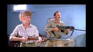 Broke Into The Wrong Goddamn Rec Room - Reba Guns Down Prehistoric Monster - Scene From Tremors