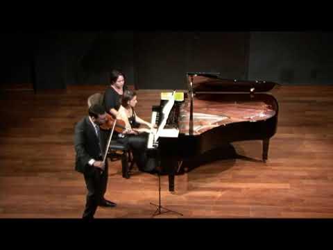 Clara Schumann: Romance op.22 N.3. Ana Flávia Frazão e José Maria Blumenschein.