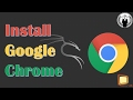 How to Install Google Chrome in Kali Linux    install google chrome in Kali Linux   Chrome