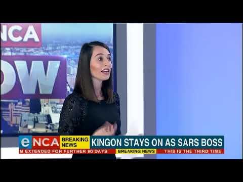 Kingon stays on as SARS boss