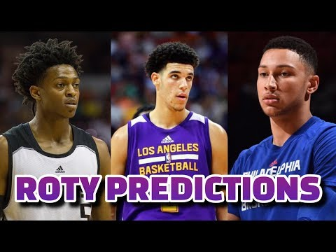 2018 NBA Rookie of the Year Predictions
