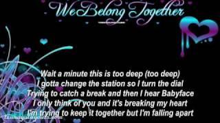 We Belong Together Mariah Carey Full Lyrics Sing Along On Screen