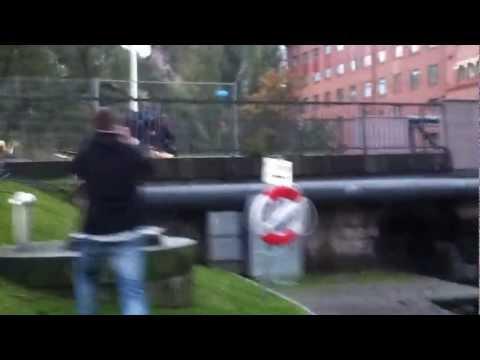 Rattfyllots vansinnesfärd genom Norrköping