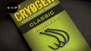 ESP - Two NEW Barbless Cryogen patterns.