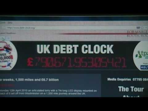 TICK, TOCK, TICK, TOCK  - Britain is a 'LAUGHING STOCK' (A BANKRUPT NATION).