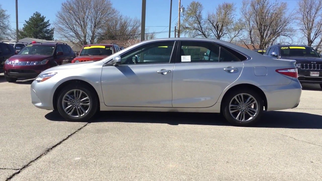 Toyota Dealers In Kansas >> 2016 Toyota Camry For Sale Lewis Toyota Of Dodge City