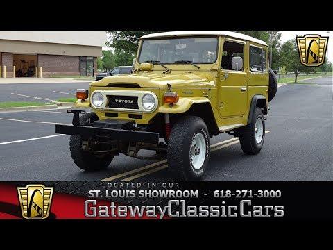 #7814 1978 Toyota Land Cruiser FJ40 - Gateway Classic Cars St. Louis