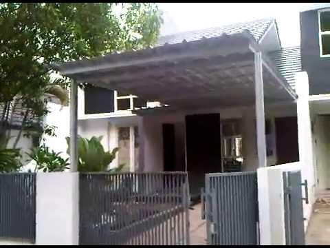 rangka atap baja ringan untuk teras kanopi spandek (zincalume) - youtube