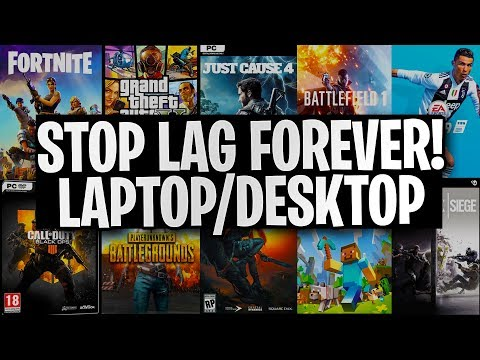 Play Any Game On Low End Laptop/Desktop NO LAG! Tutorial 2019 (100% WORKING) EASY!!::