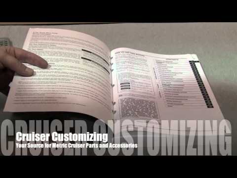 Honda Motorcycle Service Manual VTX 1300 and all Honda Video