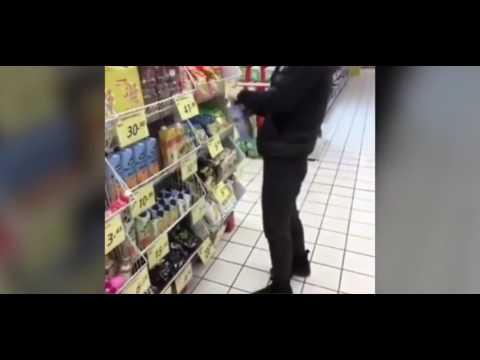 【キチガイ炎上】中国の動画サイトに投稿されたお店でのイタズラ映像