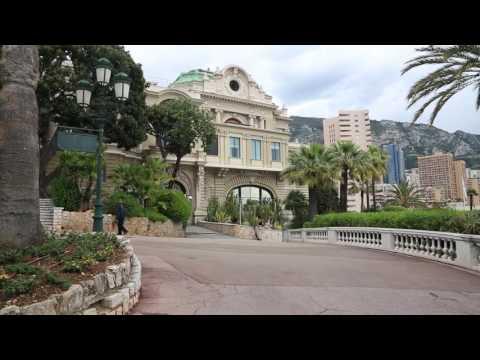 Monaco Monte Carlo Jardin public /  Monaco Monte Carlo Public garden