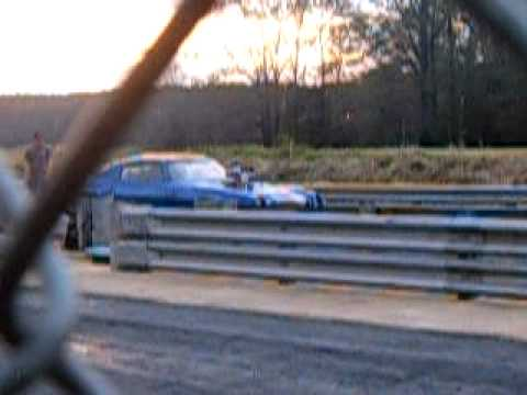 Moon Shine & Owner Wade Avery Dragway Park MS