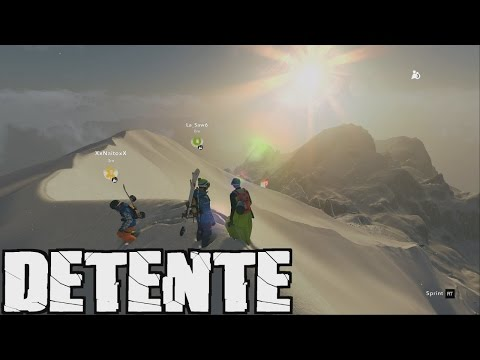 STEEP (FR) - Freeride entre amis! (Ft. Naito75 et Saw6) | Gameplay PC Ultra 60FPS