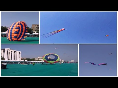 International Kite Festival 2015 In Ahmedabad, GJ - INDIA