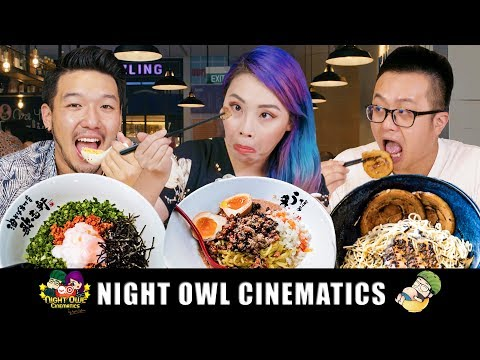 FOOD KING SINGAPORE: BEST RAMEN IN SG?! (PART 1)