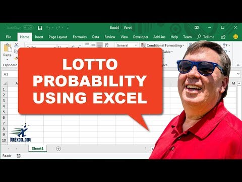 lotto numbers probability excel