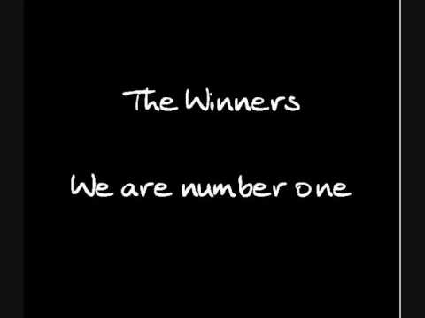 The Winners - We are number one