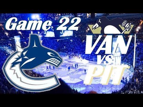 NHL - Vancouver Canucks at Pittsburgh Penguins - November 22, 2017