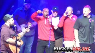 NU and UT Coachs Karaoke competition Music City Bowl 2016