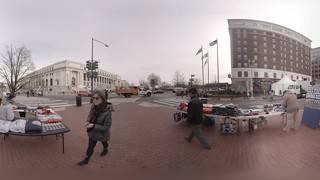 360: Inauguration Merchandise Street Vendors