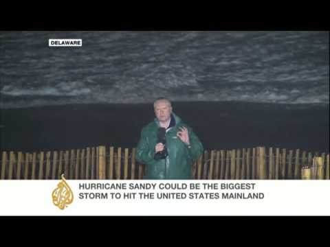 Sandy to hit Delaware coast
