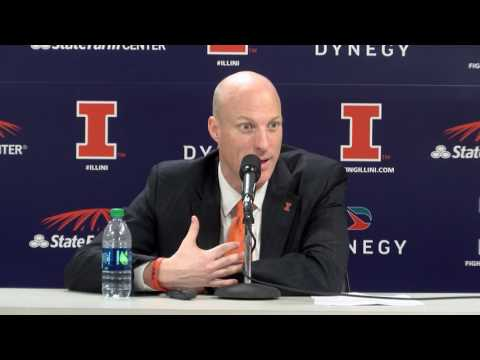 John Groce Postgame Press Conference vs Michigan State | 3/1/17