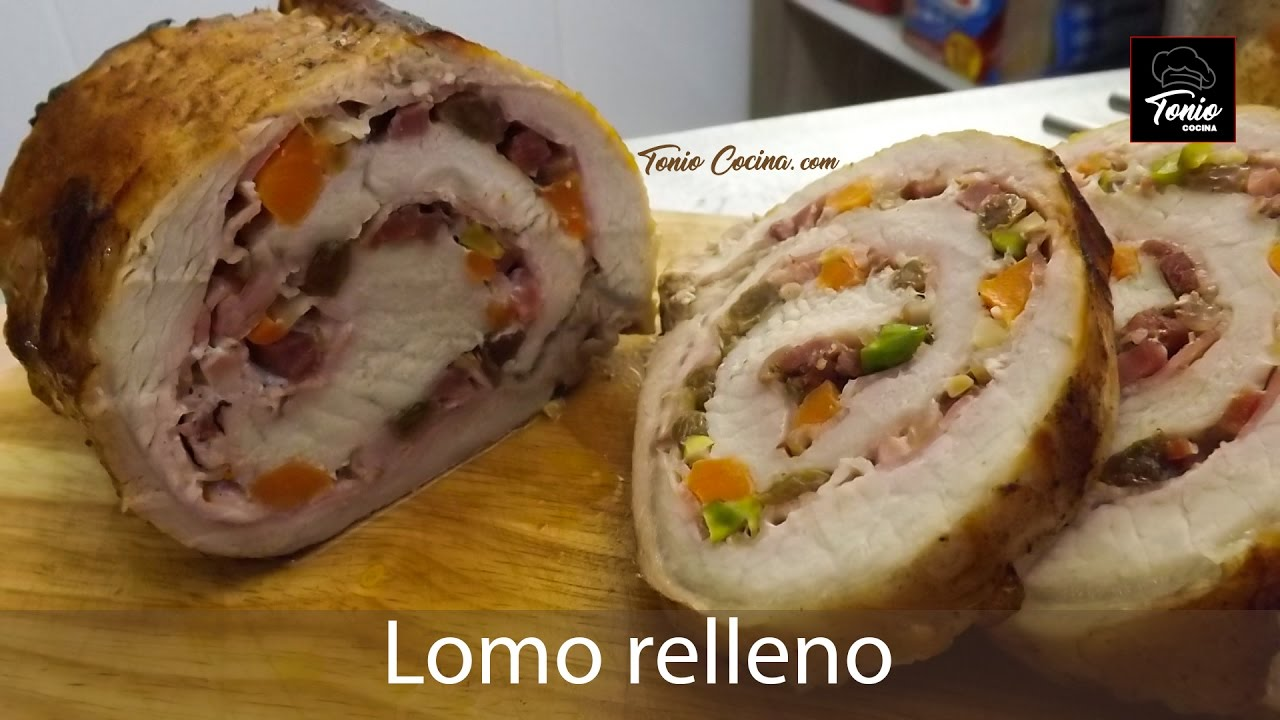 Lomo Relleno Al Horno Con Patatas Asadas Receta Fácil Toniococina 247