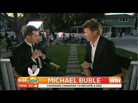 Michael Buble Interview live on the Today Show