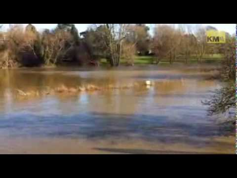 Yalding on flood alert