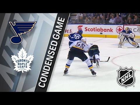 01/16/18 Condensed Game: Blues @ Maple Leafs