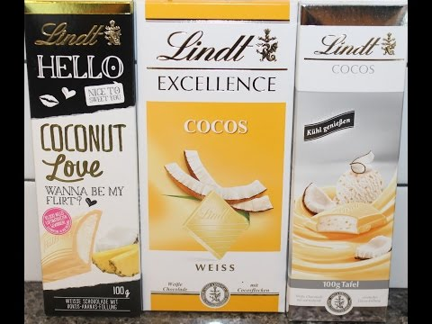 Lindt: Hello Coconut Love & White Chocolate Coconut Thick & Thin Review
