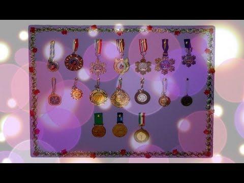 Tutorial 48 diy porta medaglie porta orecchini youtube - Creare porta orecchini ...